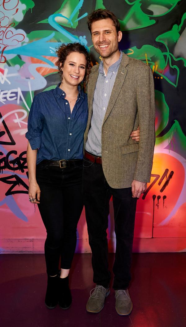 Chelsea Williams and Zak Sandler