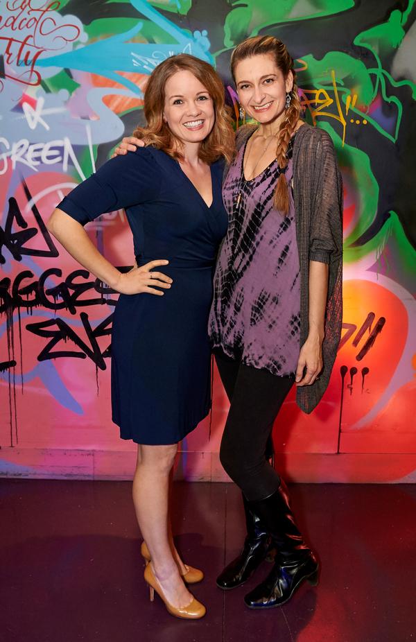 Becky Gulsvig and Sara Wordsworth