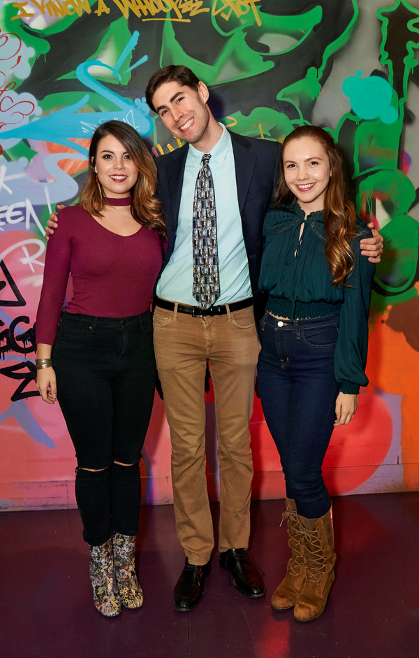 Melissa Rose Hirsh, Alex Ratner, and Celeste Rose