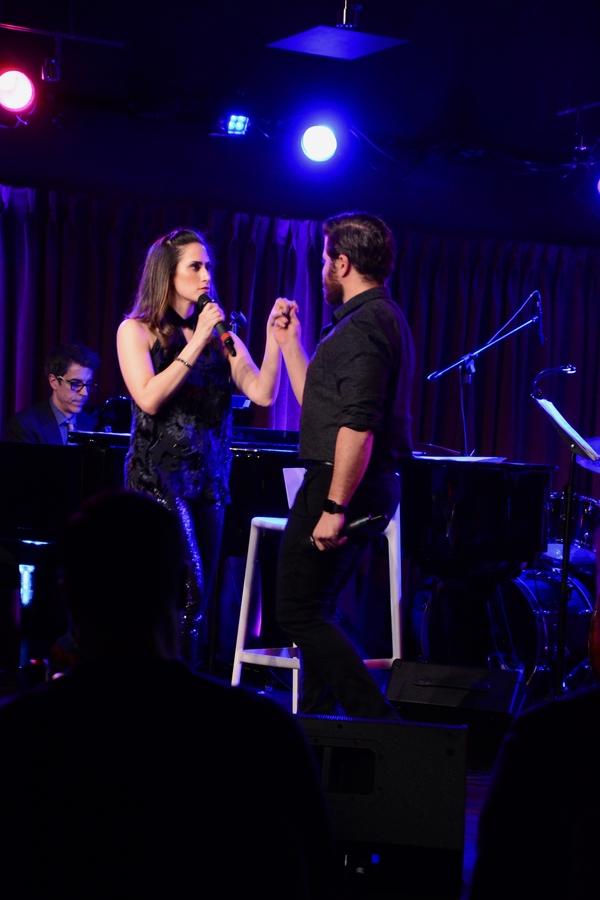 Jennifer Diamond and Josh Young