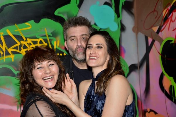 Frances Ruffelle, Craig Bierko and Jennifer Diamond