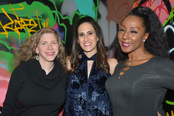 Cara Joy David, Jennifer Diamond and Harriet D. Foy