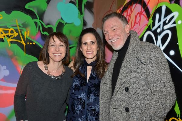 Paige Davis, Jennifer Diamond and Patrick Page