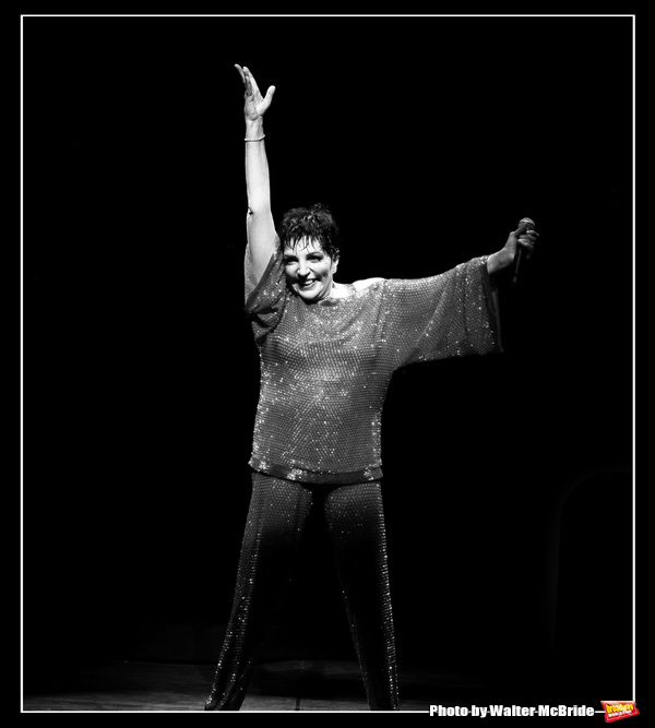 "Liza Minnelli during the Curtain Call for the Opening Night Performance of ""LIZA'S AT THE PALACE ..."" at Broadway's Palace Theatre in New York City. December 3, 2008"