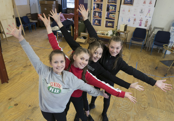 Charlotte Breen, Fifi Bloomsbury Khier, Anya Evans and Lucy Simmonds (Tina Denmark) Photo