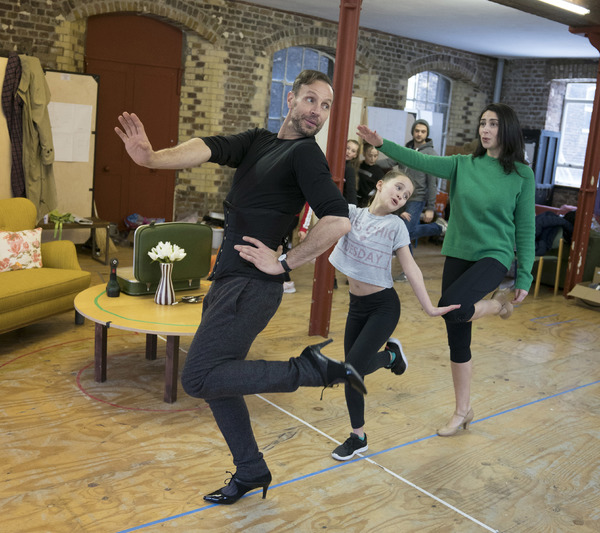 Jason Gardiner (Sylvia St. Croix), Charlotte Breen (Tina Denmark), Kim Maresca (Judy  Photo