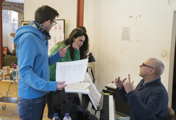 Richard Fitch, Kim Maresca (Judy Denmark) and Gareth Valentine Photo