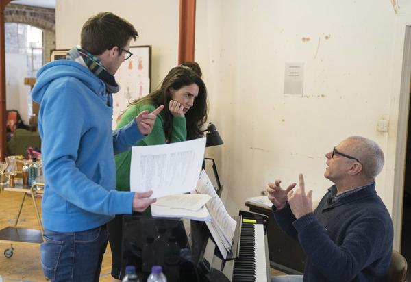 Richard Fitch, Kim Maresca (Judy Denmark) and Gareth Valentine