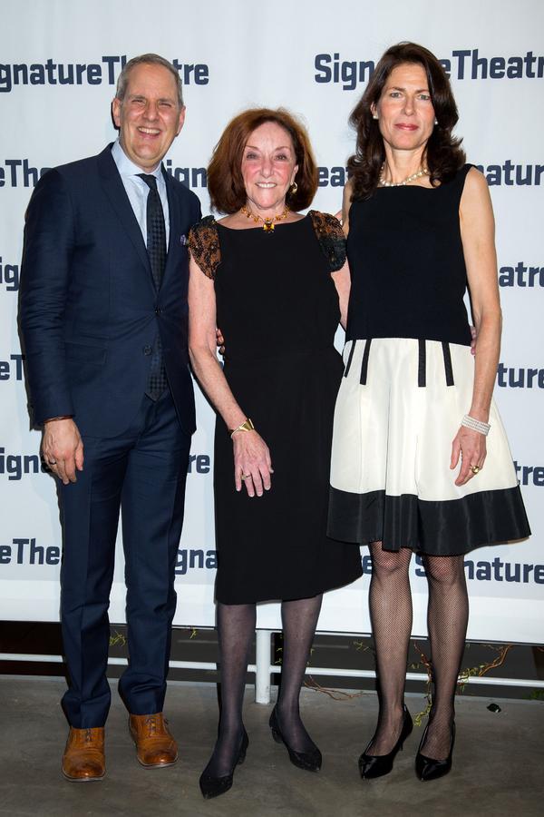 Harold Wolpert, Nina Matis, Paige Evans Photo