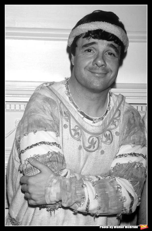 Photo Throwback: Nathan Lane Stars in A FUNNY THING HAPPENED ON THE WAY TO THE FORUM in 1996
