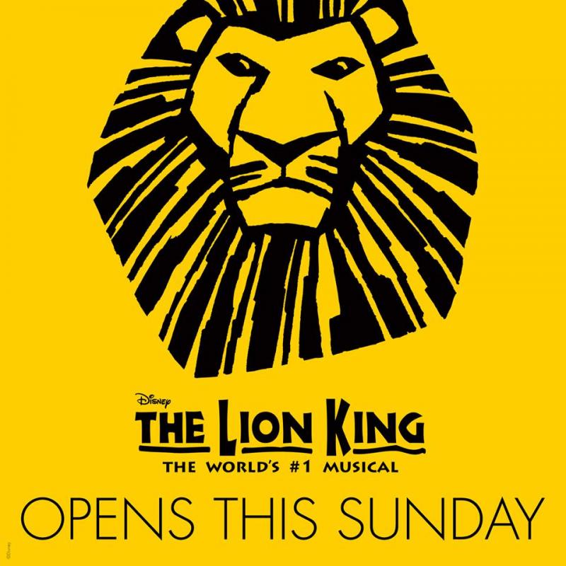 The International Tour Of Disney's THE LION KING Begins Performances In Manila This Sunday, 3/18