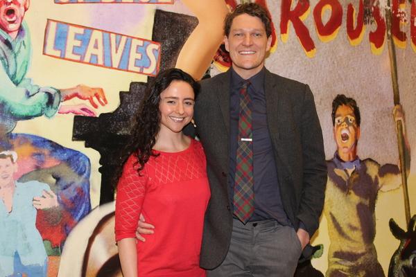 Danya Taymor and Gabriel Ebert