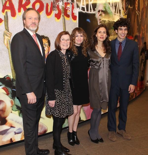Andrew Garman, Ann McDomough, Sally Murphy, Jessica Hetch and Ben Edelman Photo