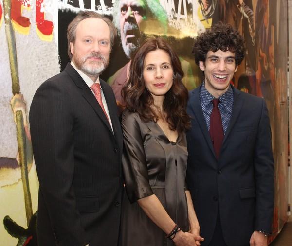 Andrew Garman, Jessica Hecth and Ben Edelman Photo