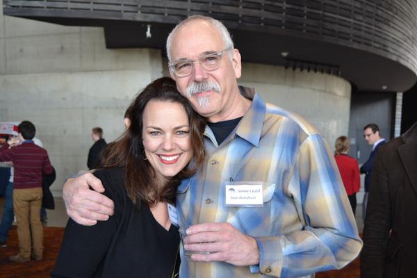 Co-Composer and Lyricist Georgia Stitt and Co-Composer Bob Banghart