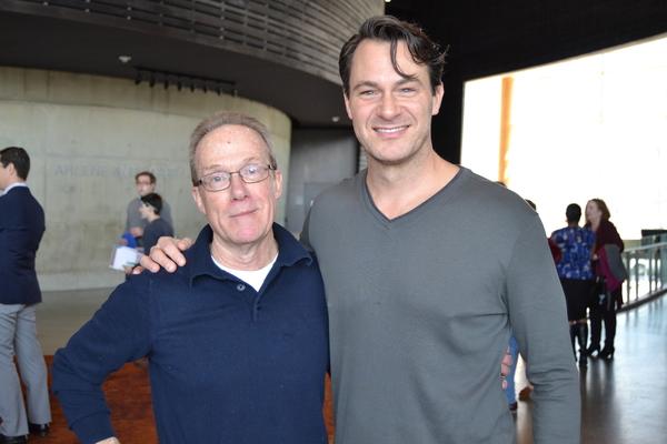 Playwright John Strand and Matt Bogart (Jack)