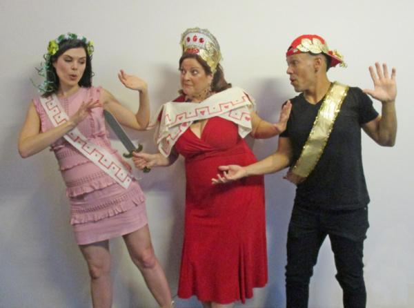 Kate Abreo, Yvette Voelker and David Ancar