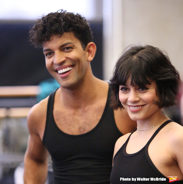 Carlos Gonzalez and Vanessa Hudgens