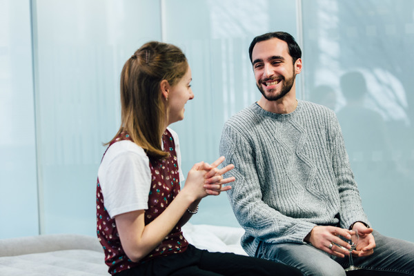 Photo Flash: In Rehearsal with Helena Wilson, Alistair Toovey, and the Cast of LOVE ME NOW