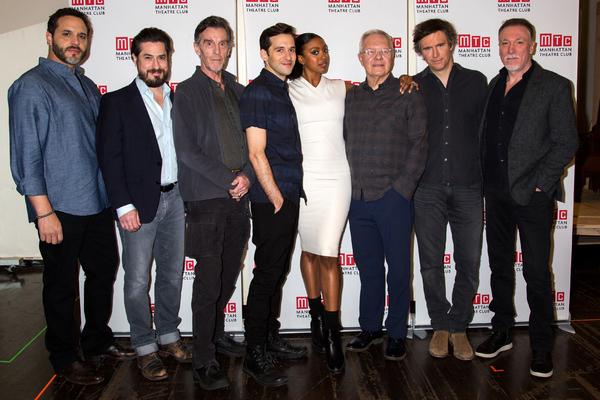 Photo Coverage: Condola Rashad and the Cast of SAINT JOAN Meet the Press!
