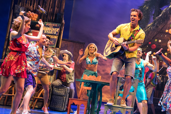 Photo Flash: Wasted Away! First Look at ESCAPE TO MARGARITAVILLE on Broadway