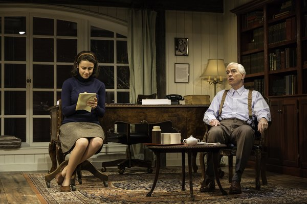 Photo Flash: First Look at TRYING at George Street Playhouse