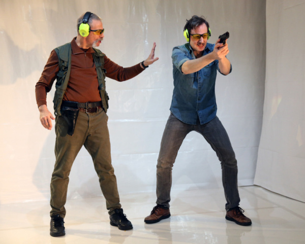 Michael Gnat & Ean Sheehy in Shooter. Photo by Carol Rosegg. Photo