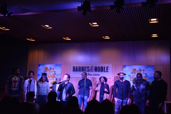 Photo Coverage: The Cast of ONCE ON THIS ISLAND Performs at Barnes and Noble in Honor of Cast Album Release