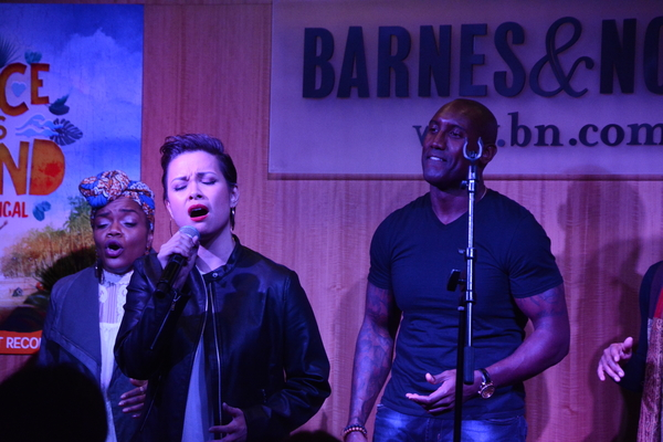 Kenita R. Miller, Lea Salonga and Quentin Earl Darrington