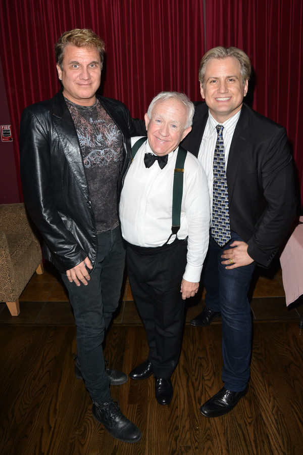 Billy Masters, Leslie Jordan, Chris Isaacson