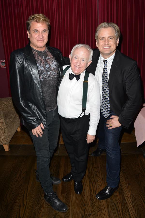 Billy Masters, Leslie Jordan, Chris Isaacson Photo