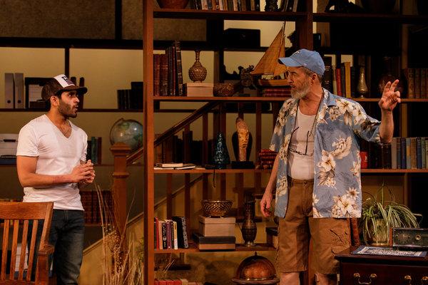 Owais Ahmed as Nazrullah and Mark Cuddy as Harold