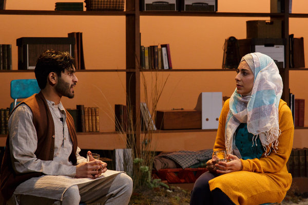 Owais Ahmed and Mari Vial-Golden