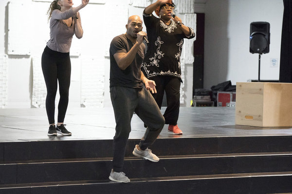 Photo Flash: Hosanna! Inside Rehearsals for JESUS CHRIST SUPERSTAR LIVE with John Legend & More!