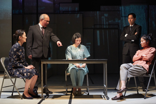 Photo Flash: First Look at National Theatre's THE GREAT WAVE