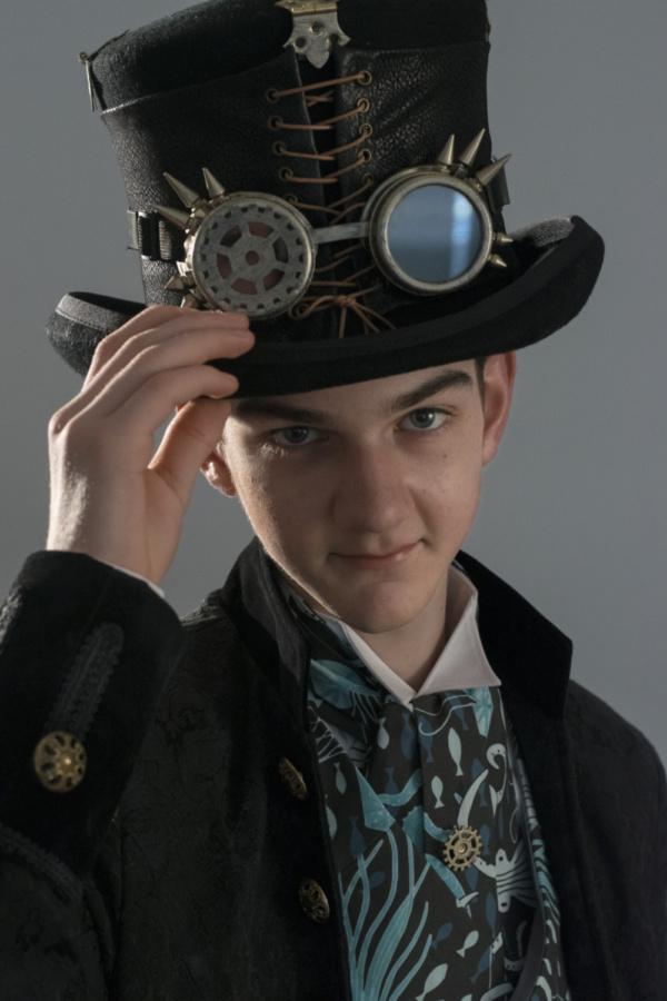 Will McDonald as Captain Nemo  photo by Jason Johnson-Spinos
