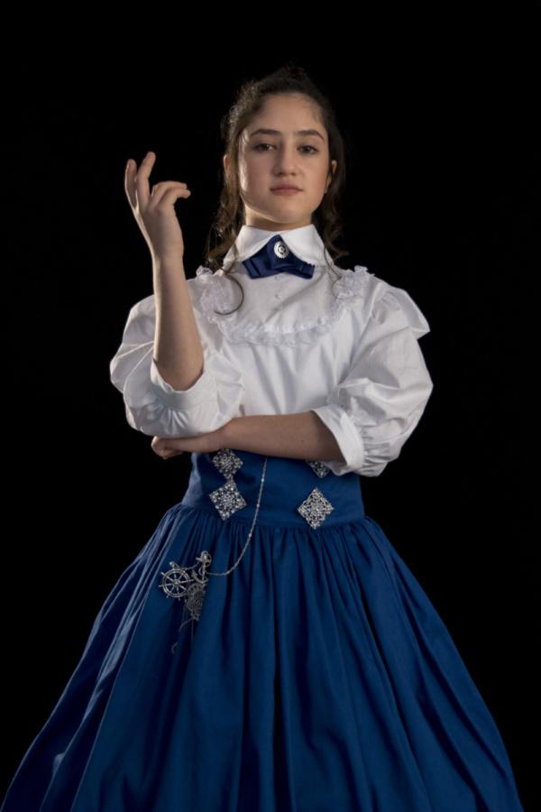 Elizabeth Belilty as Pieretta Aronnax  photo by Jason Johnson-Spinos