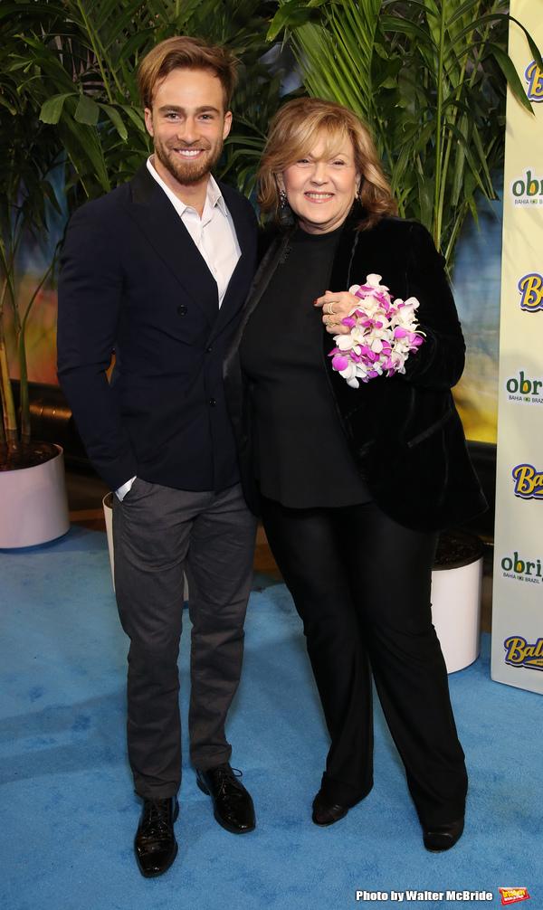 Levi Bradley and Brenda Vaccarro