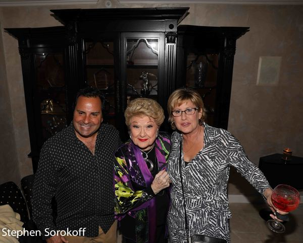 Photo Coverage: Marilyn Maye Performs at Legends Loft For Dick Robinson
