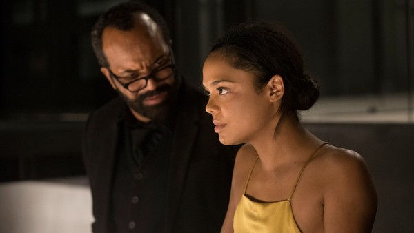 Jeffrey Wright, Tessa Thompson Photo
