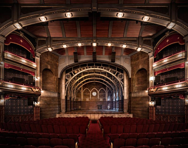 Flash: Just Like Magic! Get a Look Inside the Renovated Lyric Theatre!