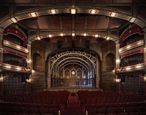 Photo Flash: Just Like Magic! Get a Look Inside the Renovated Lyric Theatre!