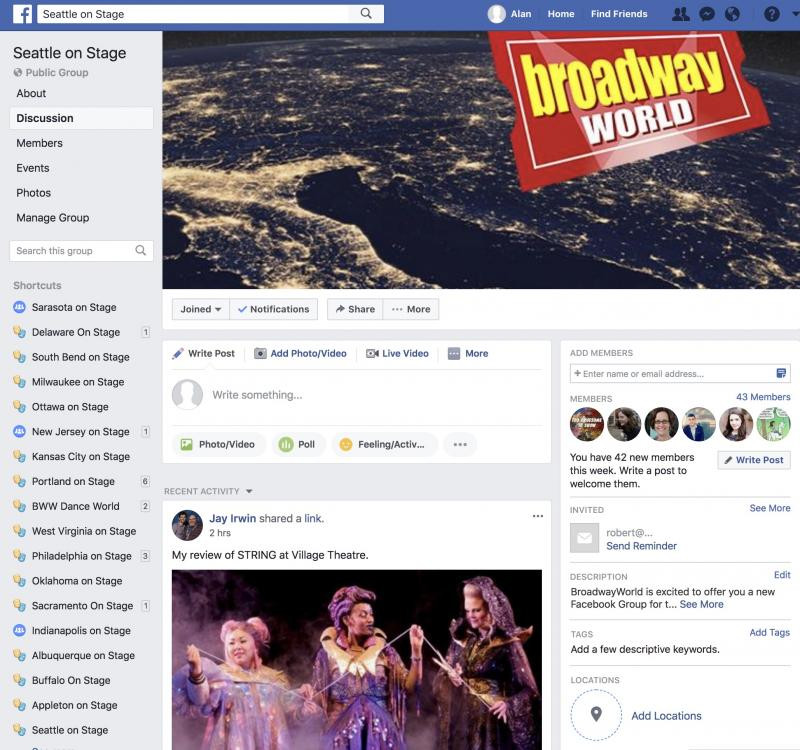 Join The BWW Seattle on Stage Facebook Group