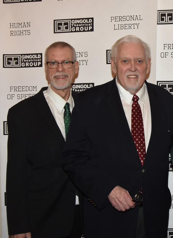 Steve Schalchin and Jim Brochu Photo