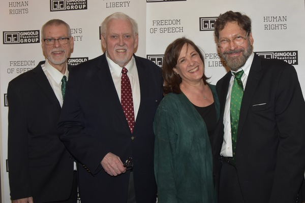 Steve Schalchin, Jim Brochu, Karen Ziemba and David Staller Photo