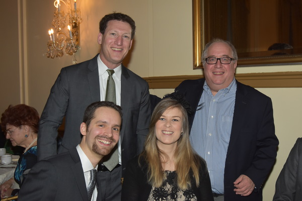 Andrew M. Flescher, Richard Terrano, Paul Feder and Morgan J. Feder