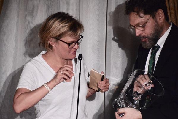 Martha Plimpton and David Staller