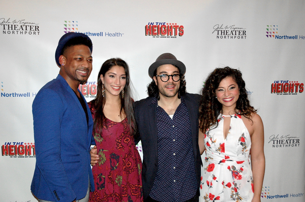Josh Marin, Chiara Trentalange, Spiro Marcos and Cherry Torres