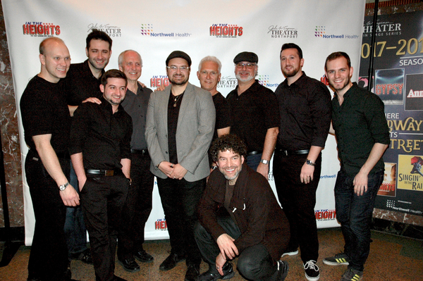 Alec Bart (Music Director), Paul Stancato with the band that included Josh Endlch, Justin Scheduling, Russ Brown, Douglas Baldwin, Mike Lawshe, Bob Dalipaz, Joel Levy, Joe Boardman, Brent Chiarello