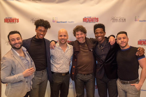 Bryan Ernesto Menjivar, Jordan Chin, Danny Lopez, Paul Stancato (Director), Darius Jordan Lee and Jovany Ramirez